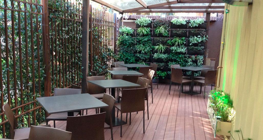 Estructuras de madera para terrazas estructura metalica for Dec para terrazas