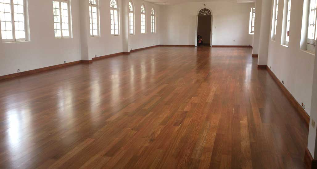 piso de madera en granadillo