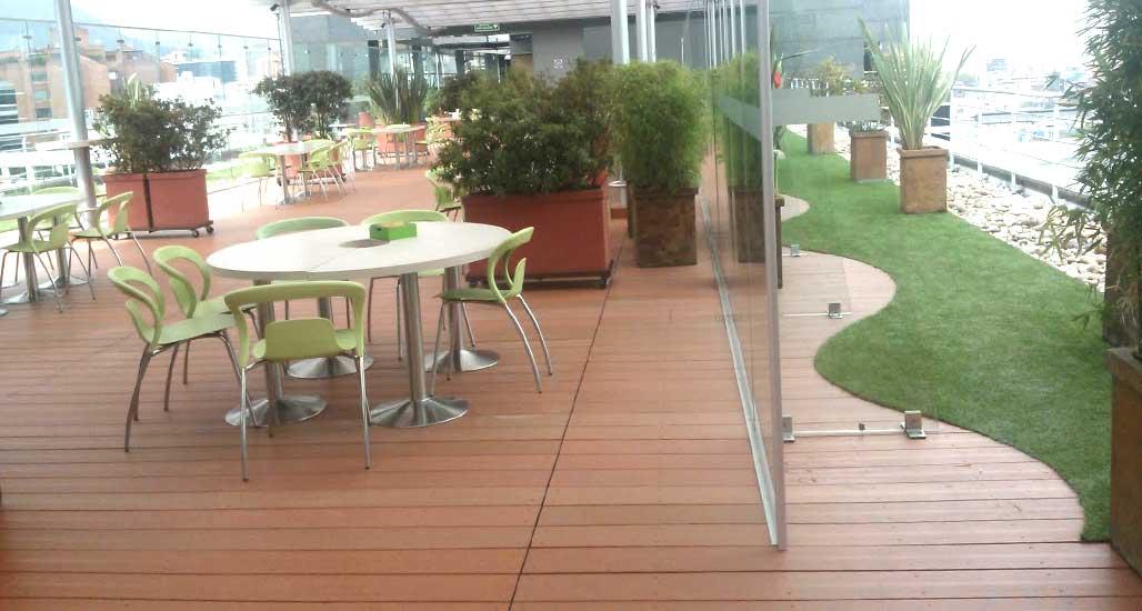 piso deck plastico